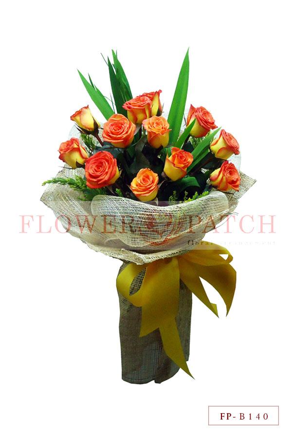 Bouquet of 1 Dozen Korean Roses | Flower Patch - Online Flower ...